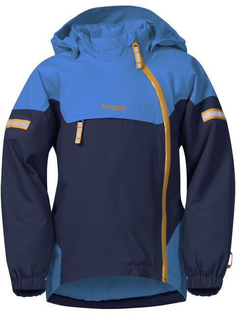 Bergans Kids Ruffen Insulated Jacket Navy/AthensBlue/Desert